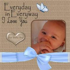 Baby Boy Scrapbook Layouts - Bing Images