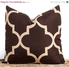 Hey, I found this really awesome Etsy listing at https://www.etsy.com/listing/129049500/sale-ends-soon-brown-pillow-cover-16x16