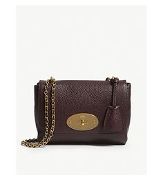 b58eb7209ed MULBERRY Lily grained-leather shoulder bag