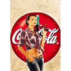 coca cola pin up - Google Search