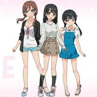 """Meet Three Heroines Introduced in TV Anime """"One Room"""" 1st PV"""