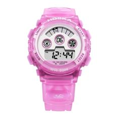 14.99$  Buy here - http://aixh5.worlditems.win/all/product.php?id=J1889P - HOSKA 2017 LED Digital 50M Waterproof Student Sports Watch Electronic Boy Girl Children Wristwatch Alarm Backlight Stopwatch 7 Colors + Box