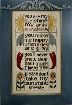 HINZEIT  charmed YOU ARE MY SUNSHINE