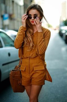 Look of the day; Street Style; Monochromatic; Monochrome; Caramel