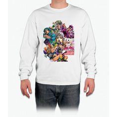JoJo's Bizarre Adventure : Joestar Family Long Sleeve T-Shirt