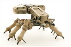 Spider Tank from GITS Movie by *paulblythe on deviantART