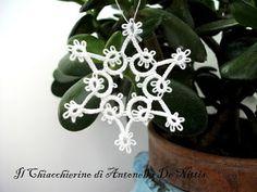 Il Chiacchierino di Antonella De Nittis: Pattern fiocco di neve 1