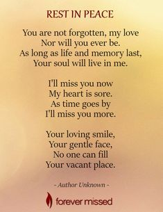 A memorial website is a perfect way to celebrate the life of a family member or a friend who has passed away. Create an Online Memorial, share memories, photos, and videos of your loved one I Miss You Quotes, Missing You Quotes, Grief Poems, Sad Poems, Bob Marley, Heaven Quotes, Heaven Poems, Memorial Poems, Memorial Cards