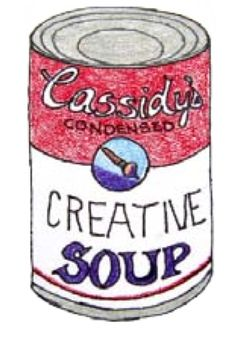 how to draw a soup can