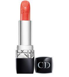 Rouge à lèvre Dior -Plissé Soleil- http://www.vogue.fr/beaute/tendance-des-podiums/diaporama/rouge-a-levre-orange-orangeade/15733/image/872543#!rouge-dior-quot-plisse-soleil-quot-de-dior