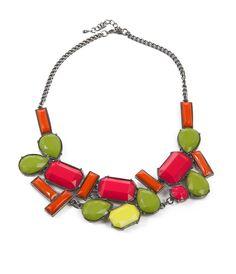Buy Nouveautés woman's - Women's chunky stone collar necklace