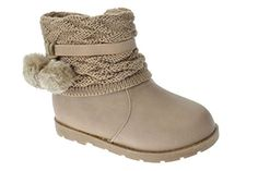 Canna 1 Little Girls Pom Pom Shearling Boots Taupe 6 Luck... https://www.amazon.com/dp/B00O3UGUJ8/ref=cm_sw_r_pi_dp_x_675bybB7VSRQF