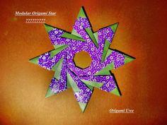 Modular Origami Star Design by me