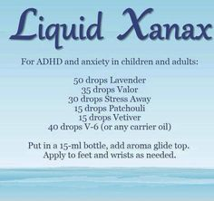 young living essential oil blend for ADHD and anxiety