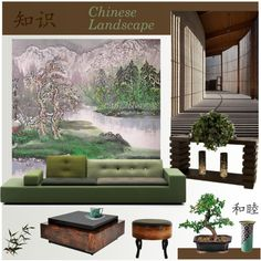 """""""Chinese Landscape"""" by snowbell on Polyvore"""