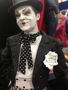 Batman: The Joker (Jack Nicholson version) #cosplay #batman #joker
