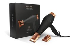 Stealth Rose Gold Ionic Hair Dryer with Ceramic Grill   NuMe