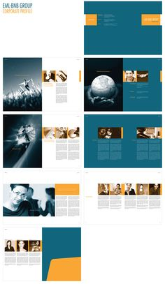 Corporate Profile Book Corporate Profile, Design Inspiration, Design Ideas, Layout, Leaflets, Publication Design, Album Design, Profile Design, Mood