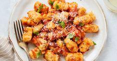 Gluten-Free Cauliflower Gnocchi Pomodoro #purewow #gluten-free #cooking #pasta #food #easy #hack #dinner #recipe #cauliflower