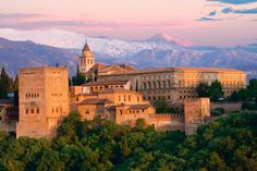 La Alhambra de Granada. I went there in 2000.