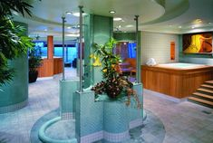 Thermal Suite - Health Spa Norwegian Jewel www.vacationgoddess.com