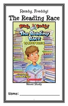 * Follows Common Core Standards *  This 29-page booklet-style Novel Study is designed to follow students throughout the entire book.  The questions are based on reading comprehension, strategies and skills. The novel study is designed to be enjoyable and keep the students engaged.