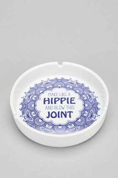 Make Like A Hippie Ashtray - Urban Outfitters
