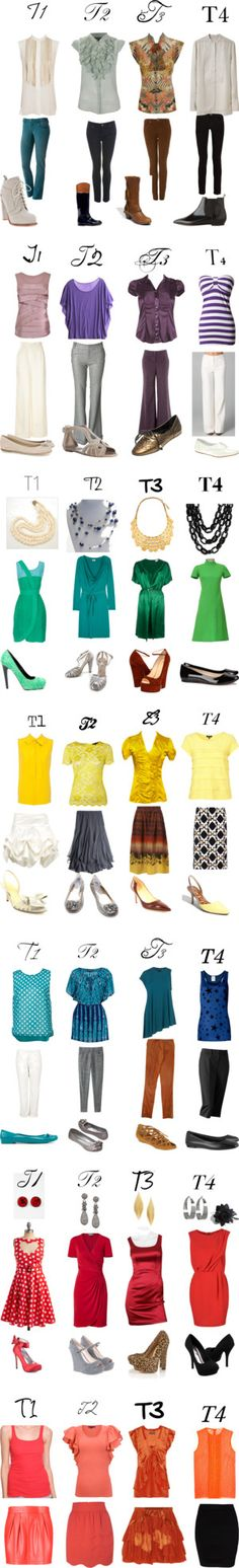 """Type 1, 2, 3, 4"" by expressingyourtruth on Polyvore"