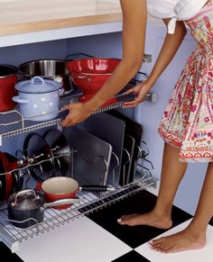 Learn how to keep your kitchen organized at http://domino.com
