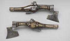 Półhaki – para pistoletów z zamkami kołowymi, 1620 r. | Historia zapomniana i mniej znana
