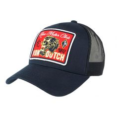 Casquette Von Dutch Bleu marine Famous #vondutch #casquette #vintage #mode #headwear #motogp Motogp, Hat Patches, Bleu Marine, Baseball Hats, Cap, Pure Products, Vintage Mode, T Shirt