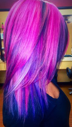 ideas hair purple baylage - All For Hair Color Trending Vivid Hair Color, Hair Dye Colors, Cool Hair Color, Balayage Hair Purple, Purple Hair, Purple Ombre, Pastel Rainbow Hair, Colorful Hair, Cool Hairstyles
