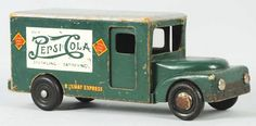 Pepsi Toy Trucks | 1244: Wooden Pepsi-Cola Buddy L Toy Truck. : Lot 1244