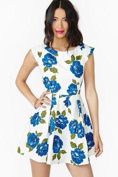 Feeling Blue Dress in Clothes Dresses at Nasty Gal