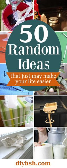 50 Random Tips & Tricks | DIY Home Sweet Home