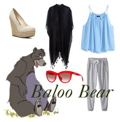 """Baloo: Disneybound"" by fashiondsign on Polyvore"