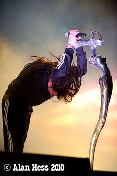 2010 Mayhem Festival - Jonathan Davis/Korn I was there! Korn, List Of Heavy Metals, Music Love, My Music, Happy Birthday Jon, Ray Luzier, Jonathan Davis, Hr Giger, Stoner Art