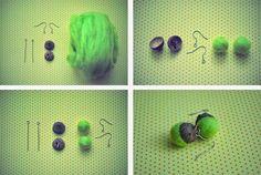 .earrings DIY.