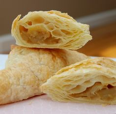 Honest to goodness gluten free puff pastry! Gluten Free Deserts, Gluten Free Vegetarian Recipes, Gluten Free Sweets, Gf Recipes, Foods With Gluten, Gluten Free Puff Pastry, Gluten Free Pie, Gluten Free Cakes, Recipes