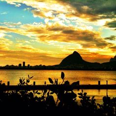 Sunset after the rain in Rio de Janeiro - @chmarra | Webstagram
