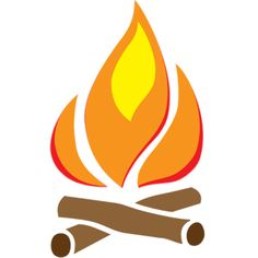 camp fire vector - Google Search