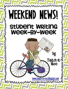 One of my favorite writing activities of all time. We do them for Morning work on Mondays. Great assessment tool and keepsake all in one!