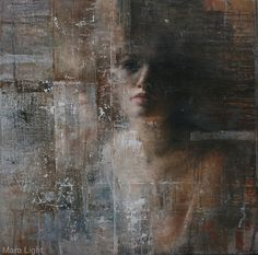 """Layers"" , Oil , by Mara Light"