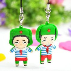 Lei Feng Couple phone pendant