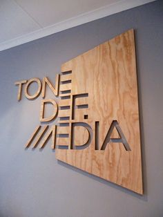Laser Cut Products 44 - Tigermouse Design Office Sign