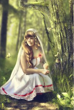 """Ziva In #Slavic #mythology, Šiwa or Šiva (pronounced /Shiva/ZHEE-va) or Sieba, was the goddess of fertility and love. She was worshiped throughout what is now Poland, the Czech Republic, Slovakia, Slovenia, and Germany (and especially the Elbe (Labe) river valley) before Christianity expanded into the area. Her name means """"living, being, existing."""""""