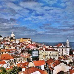 Lisbon cityscape. #lisboa #portugal