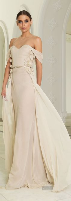 Abed Mahfouz Fall Winter 2014-2015 Loved & pinned by http://www.shivohamyoga.nl/ #dresses #fashion