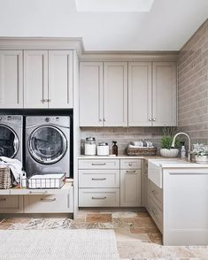 19 Best Laundry Room Shelving Ideas For an Organized Space Grey Laundry Rooms, Laundry Room Shelves, Laundry Room Remodel, Laundry Room Cabinets, Laundry Room Organization, Laundry Room Design, Organized Laundry Rooms, Laundry Area, Organization Ideas