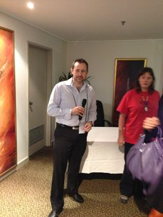Conflux 2013: Duncan Lay at the launch of his book, Valley of Shields.